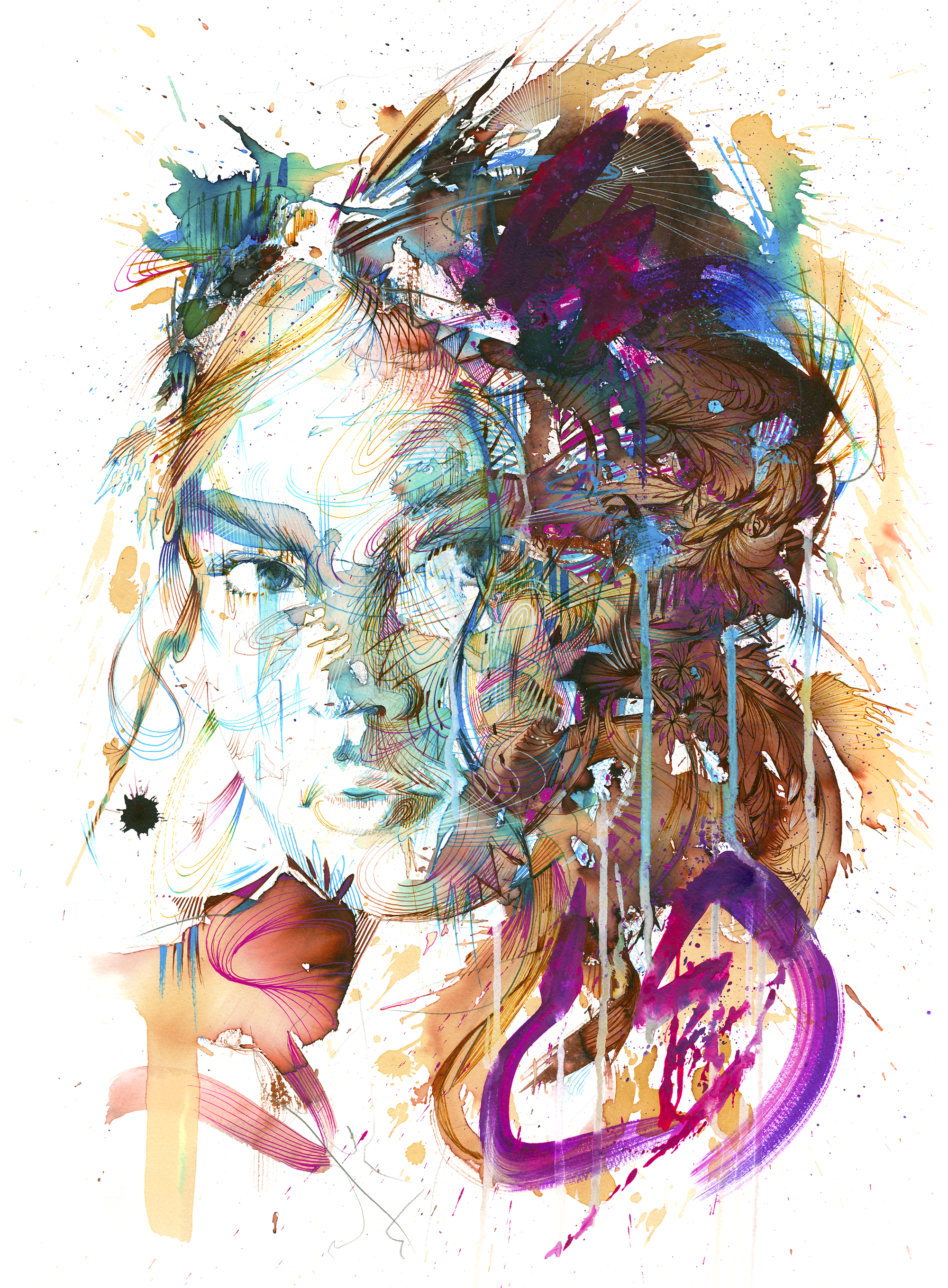 First Sight by Carne Griffiths