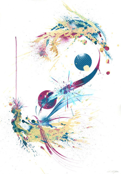 Balance by Carne Griffiths