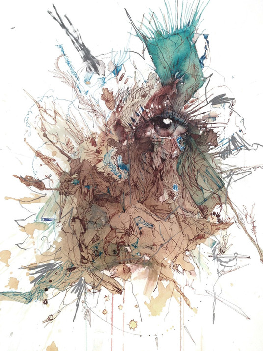 Chaos by Carne Griffiths