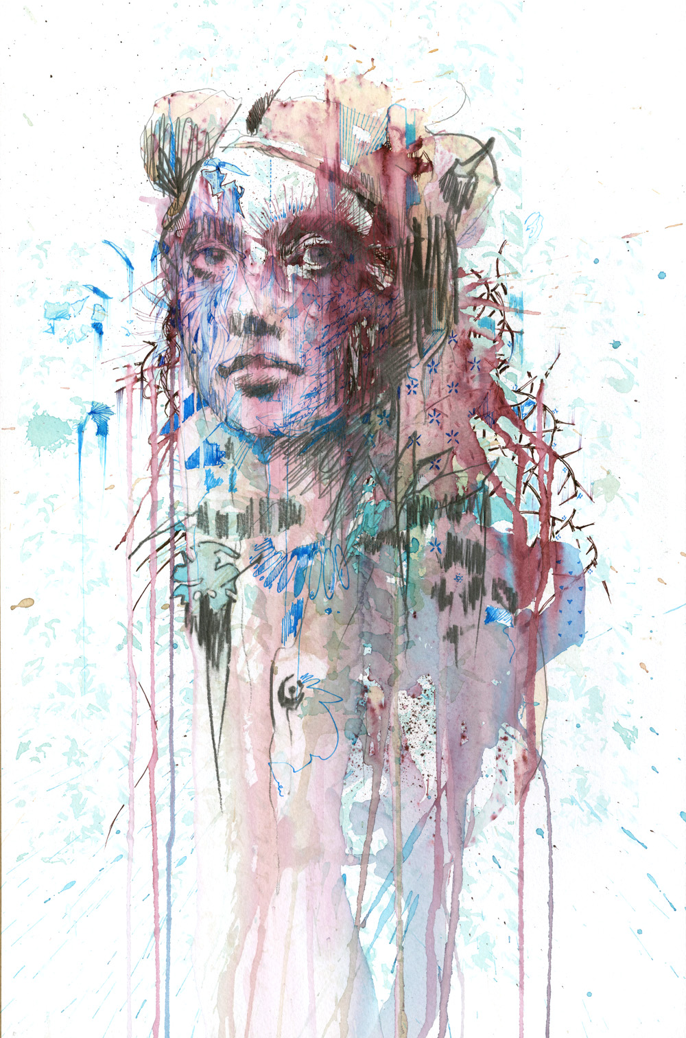 Obstructed by Carne Griffiths