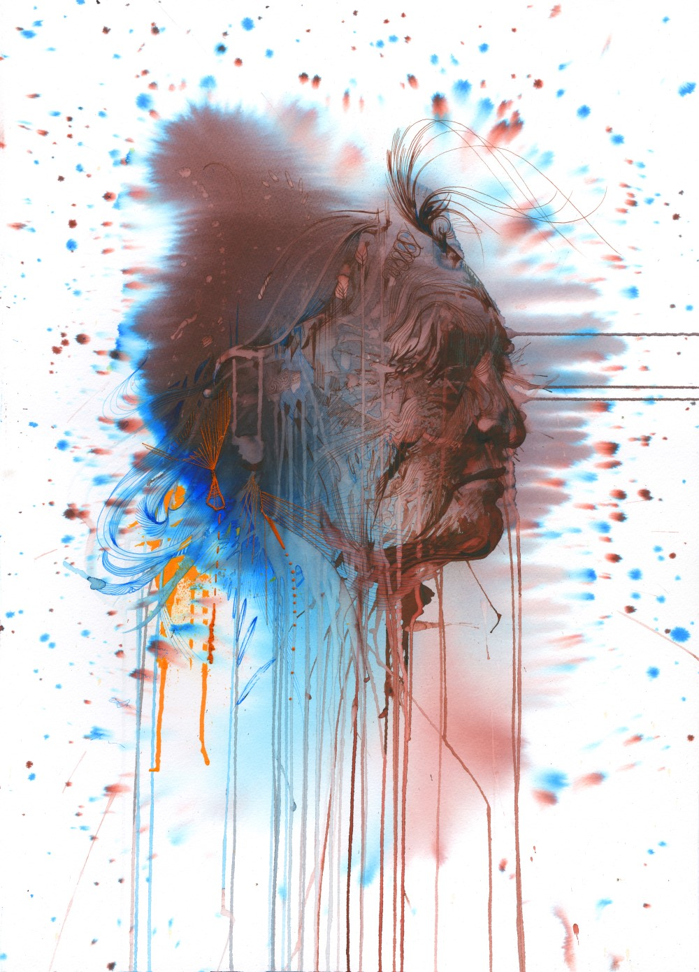Scales by Carne Griffiths