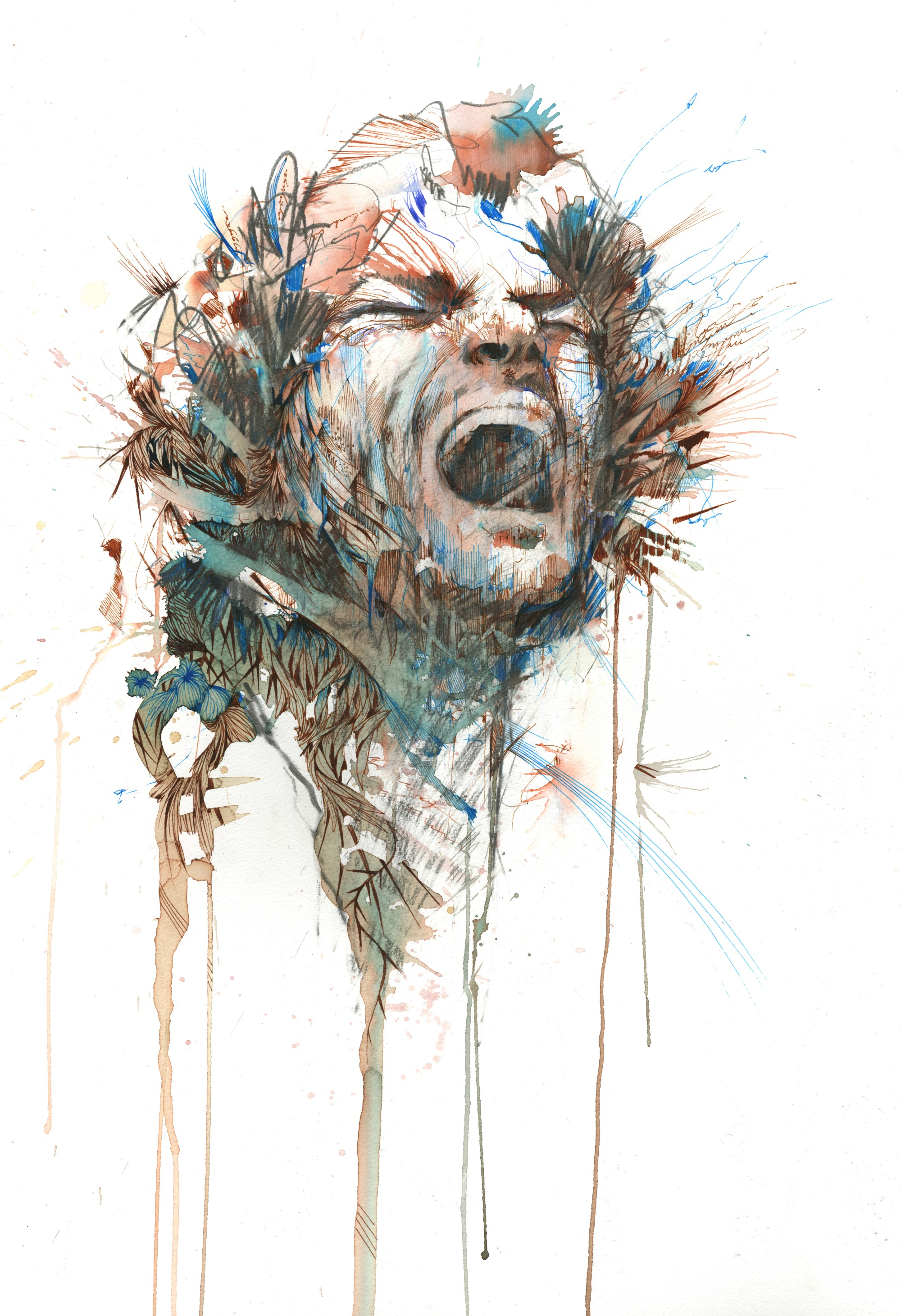 Scream by Carne Griffiths