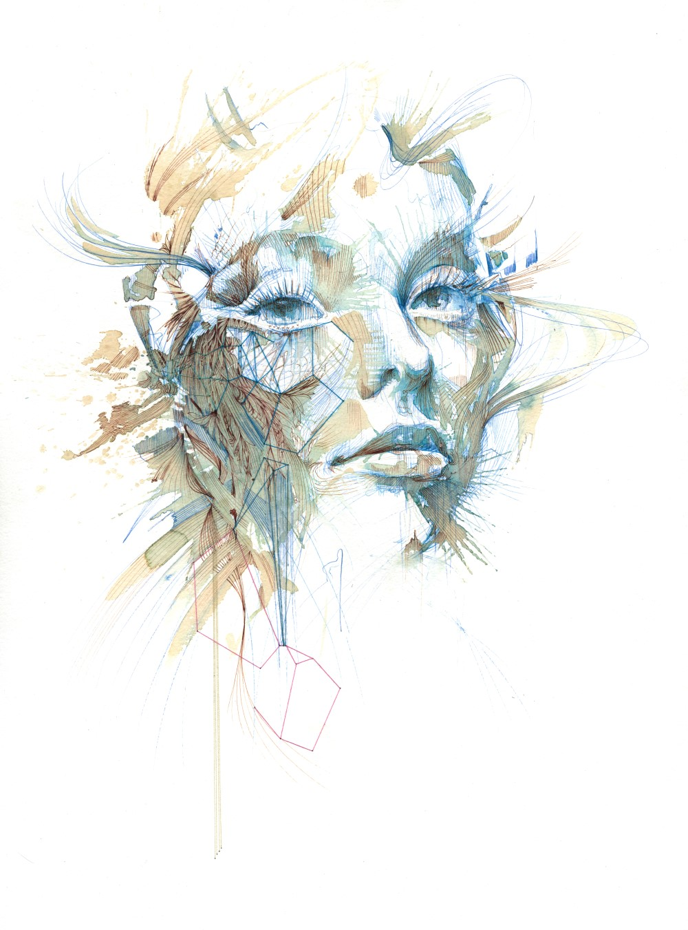 Reconnecting by Carne Griffiths