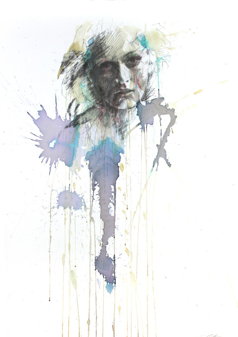 A Simple Moment by Carne Griffiths