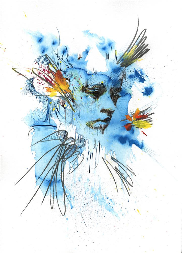Where Birds Once Flew by Carne Griffiths