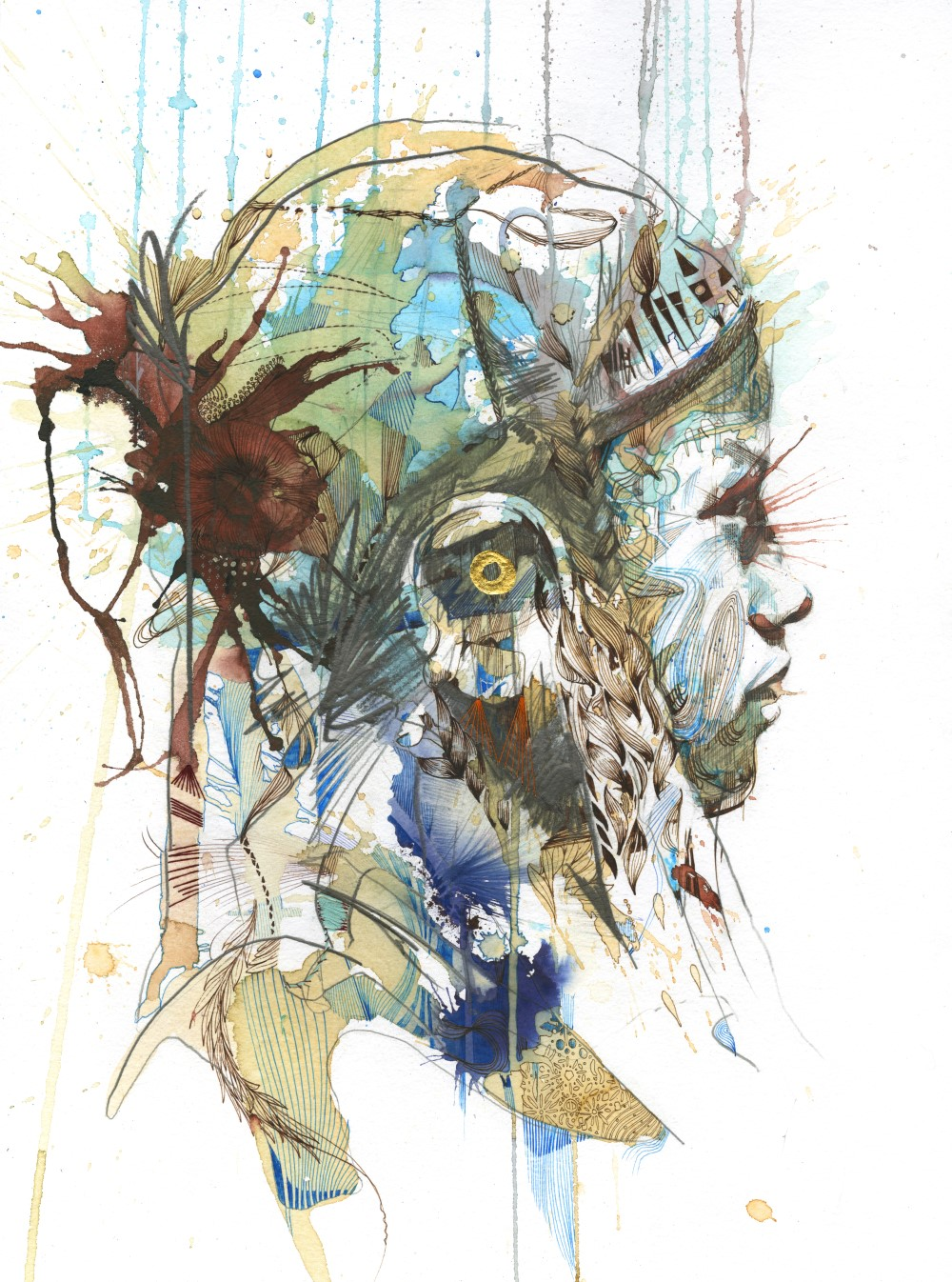Origin by Carne Griffiths