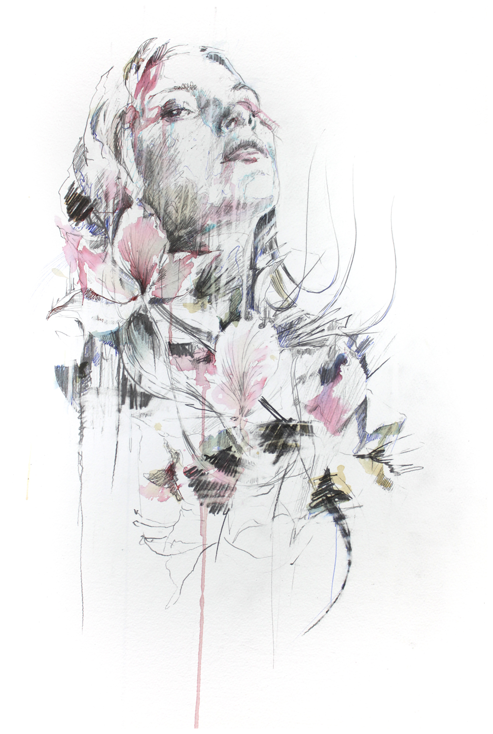 White Noise by Carne Griffiths