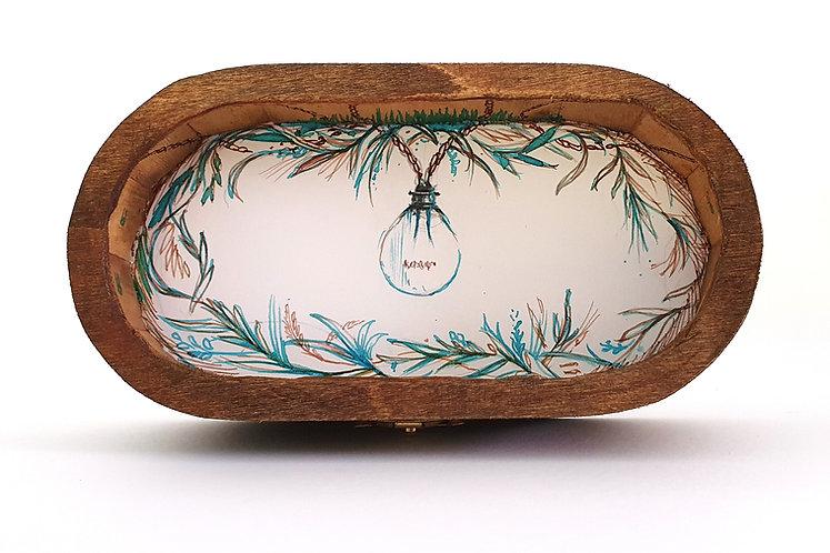 Moth - Handmade lightbox