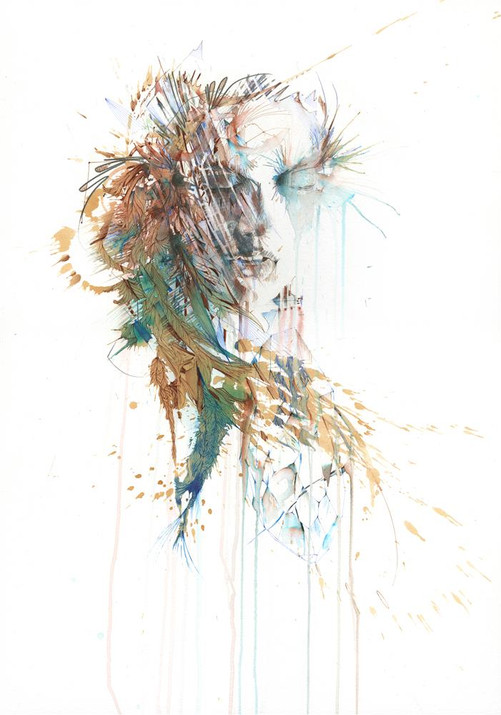 As close as you can be by Carne Griffiths