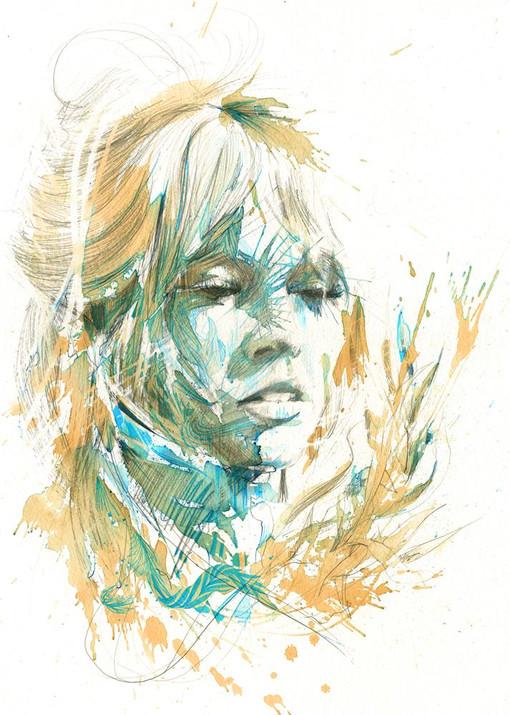 Brigitte by Carne Griffiths