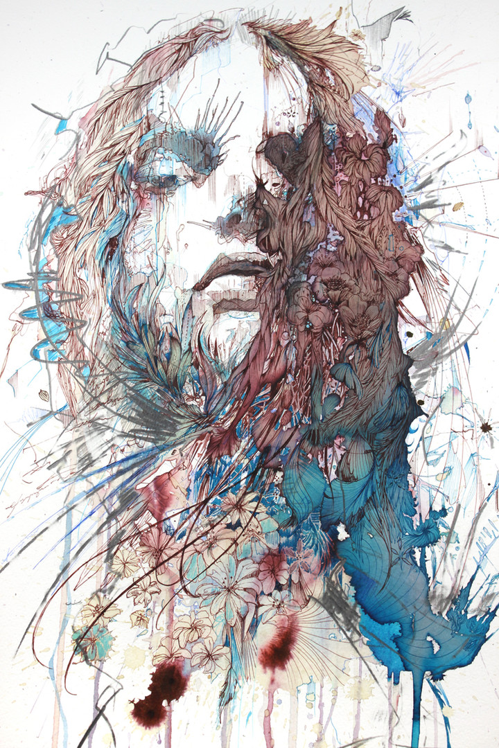 Beautiful Decay by Carne Griffiths