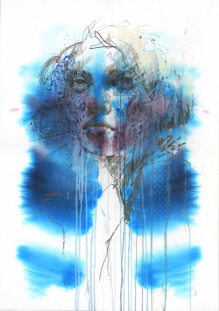 Celestial by Carne Griffiths