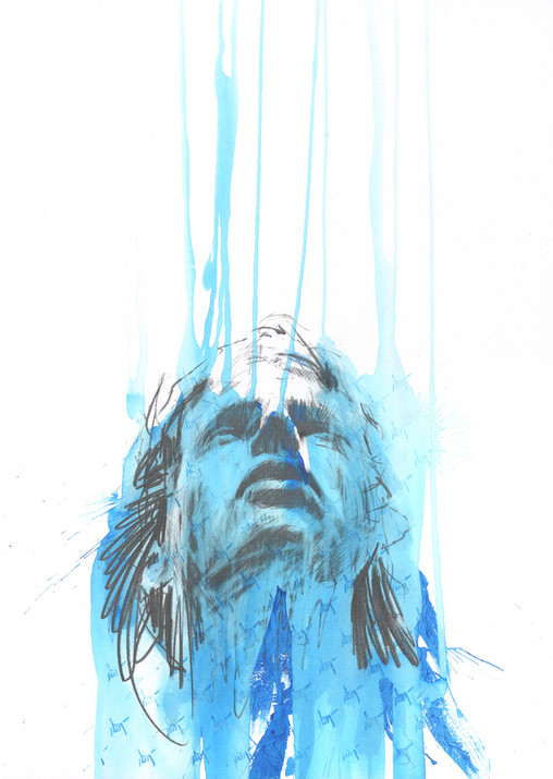 Barrier by Carne Griffiths