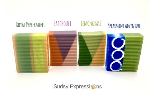 Herbal Soap Collection by Pazit Edelman Sudsy Expressions
