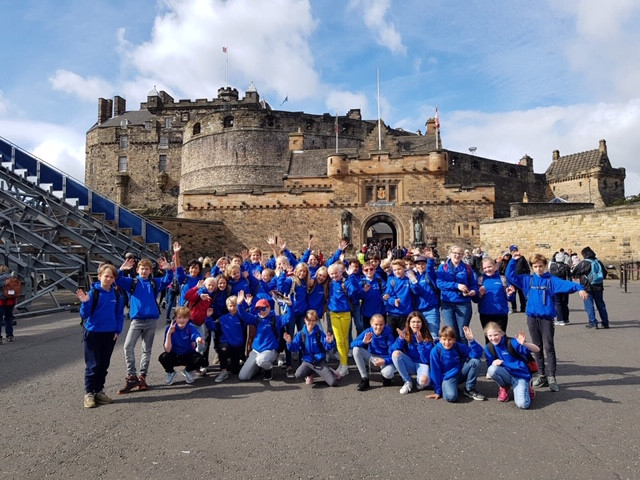 Bezoek leerjaar 8 aan Edinburgh