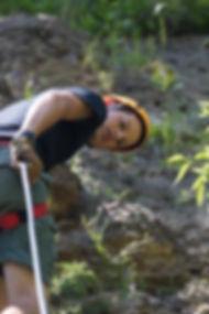 Climbin at Camp