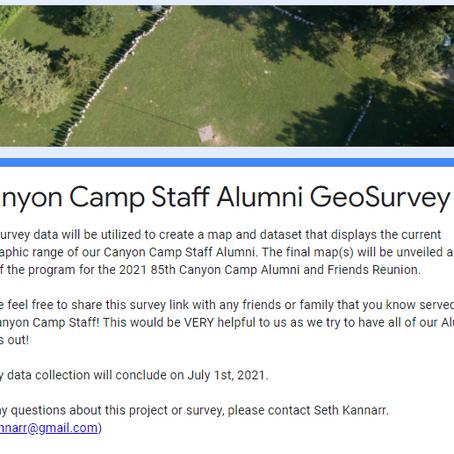 Alumni GeoSurvey