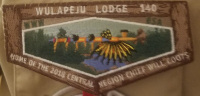 Will Coots Central Region Patch