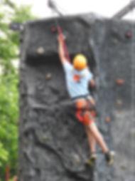 Climbing at Canyon Camp