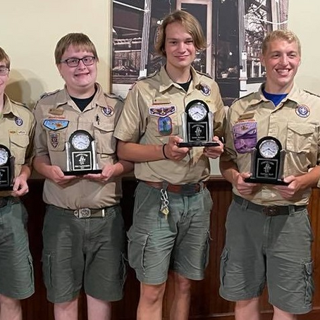 """""""Old Timers"""" Honored at Canyon Camp"""