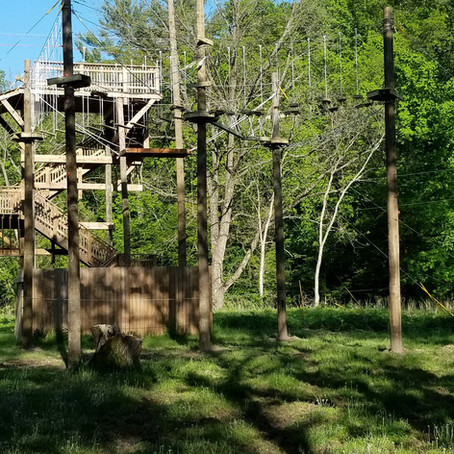 High Ropes Course Ready for 2019 Season