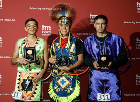 World Champion: Nedallas Hammill Wins Hoop Dance Contest