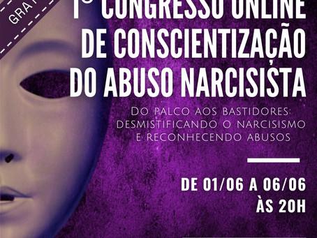 1º Congresso online de conscientização do abuso narcisista