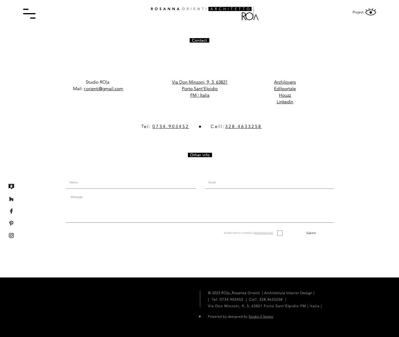 Pubblicità Siti internet Tolentino Macerata Studio Il Segno