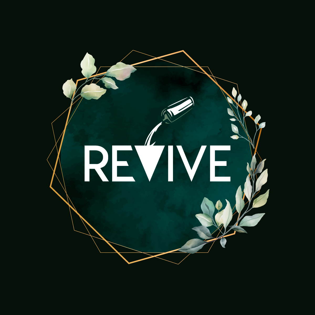 REVIVE Logo COCKTAIL BAR