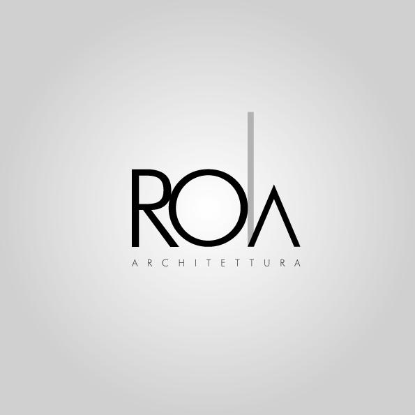 RO|a Logo studio di architettura