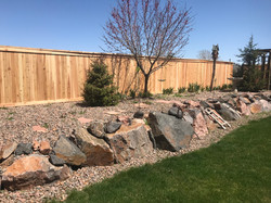 Landscaping Rocks and Plants Installed