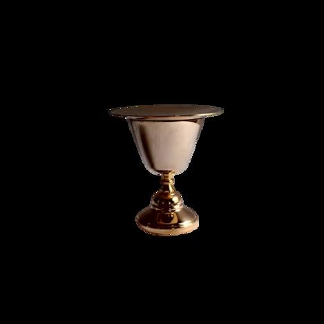 Cáliz dorado pequeño (17 cm) fino