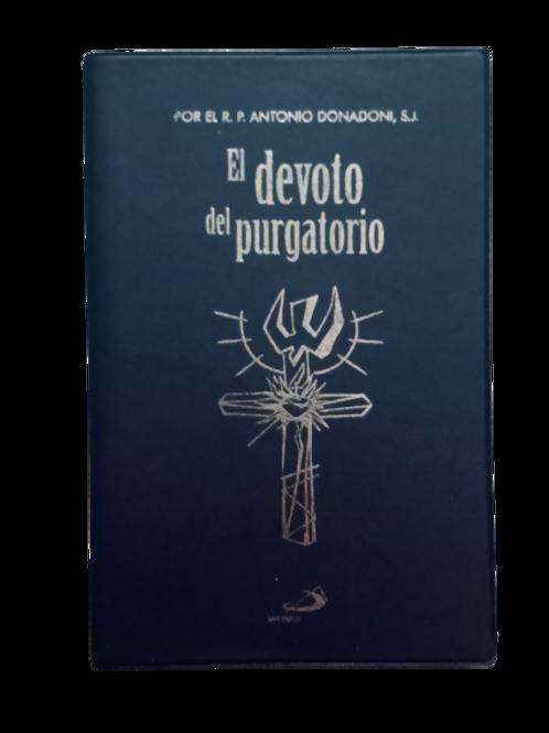 Libro que contiene misa, rosario y oraciones para difuntos