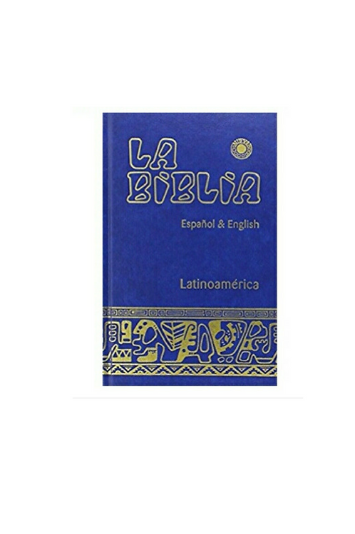 Biblia Latinoamericana grande español-inglés