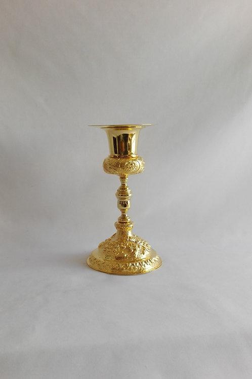 Caliz con Patena bañado en oro