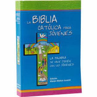 Biblia Católica para jóvenes. Pasta blanda