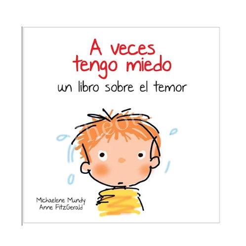 Libro para niños para manejo del miedo