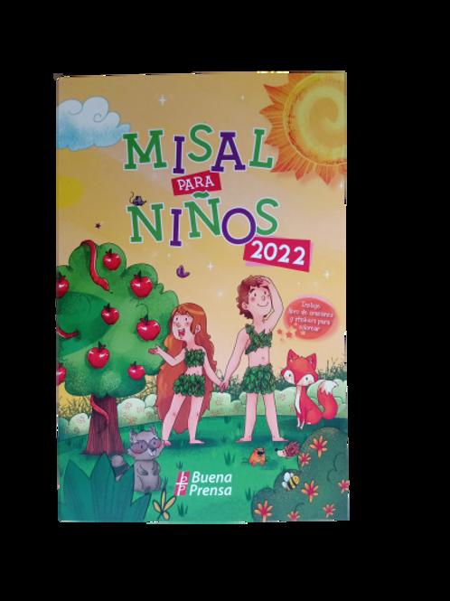 Misal para niños con las lecturas de los domingos del año 2022