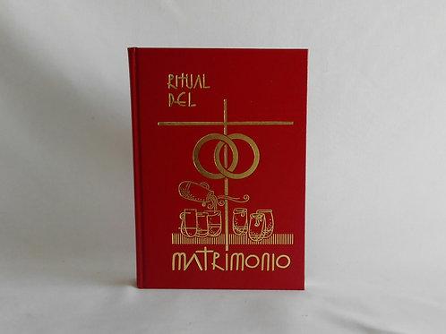 Ritual del Matrimonio empastado rojo