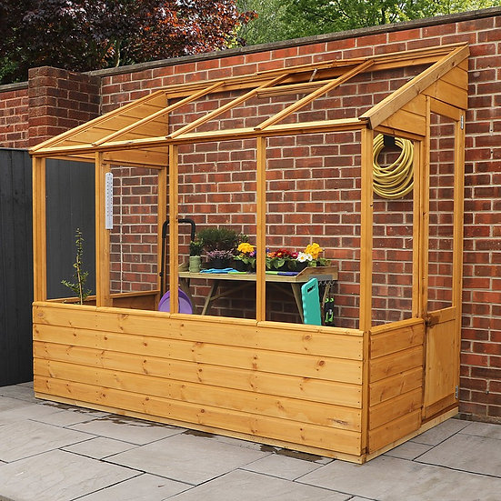 8x4ft lean-to