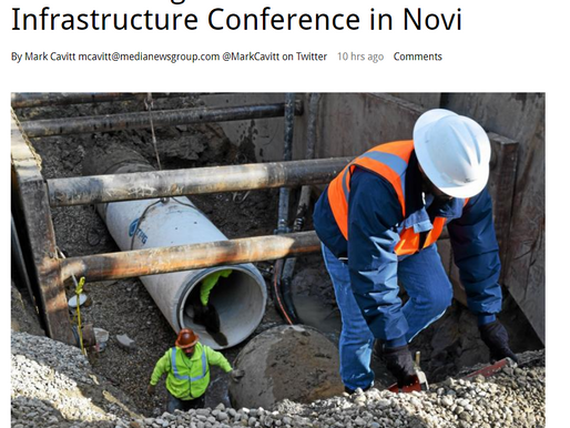 Reusable News: Great Lakes Infrastructure Conference