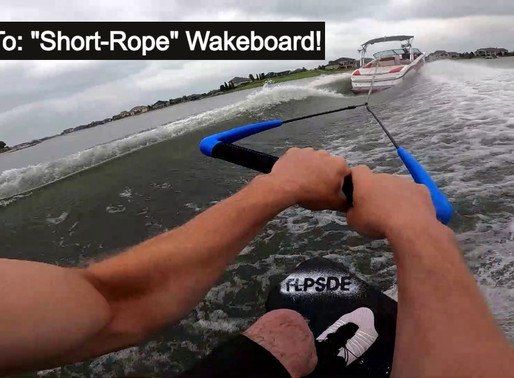 A Super Fun Way to Wakeboard