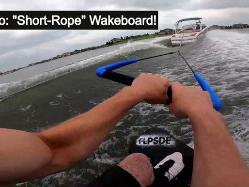 A Super Fun Way to Wakeboard