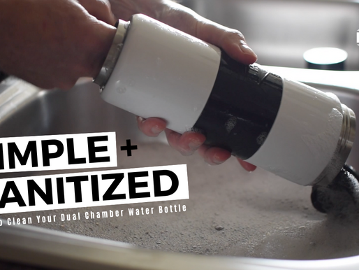 Sanitize! Cleaning Reusable Water Bottles