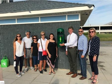 Reusable News: Long Branch Installs Boardwalk Water Bottle Filling Station