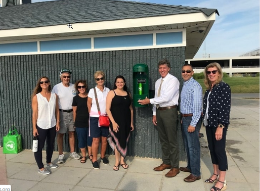 Reusable News: Long Branch Installs Boardwalk Water Bottle Filling Station