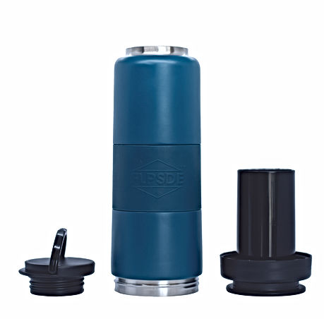 FLPSDE Dual Chamber Water Bottle. Water