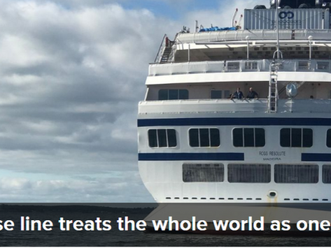 Reusable News: Cruise Line Setting a New Standard.
