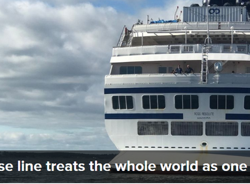 Reusable News: Cruise Line Setting a New Standard.