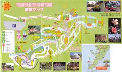 植物園内拡大マップ画像のコピー